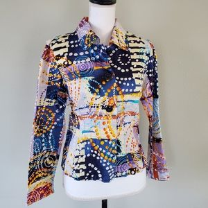 REQUIREMENTS Multicolored Jacket - Size S (EUC)
